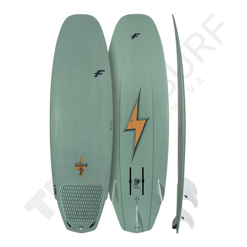Surfboard F-ONE Slice Bamboo Foil - 2021