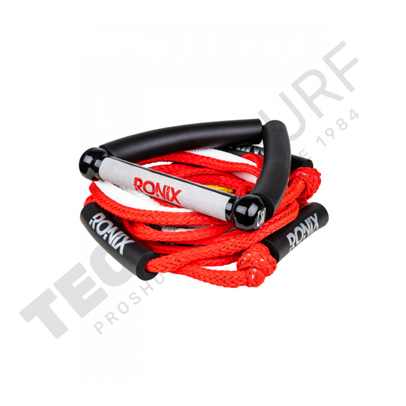 RONIX  Bungee Surf Rope With Handle rouge
