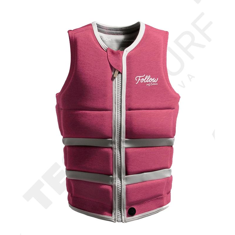 Impact vest FOLLOW WAKE Surf Edition Ladies Jacket