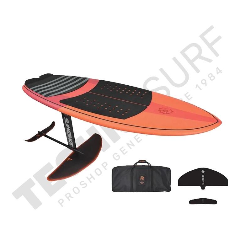 Pack Wakefoil SLINGSHOT WF1 4'6'' + Hover Glide Fwake V3 - 2021