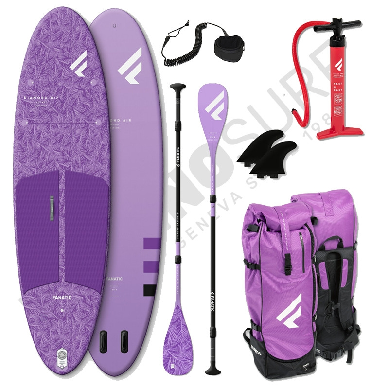 Pack Stand Up Paddle Gonflable FANATIC Diamond Air Pocket 10'4'' - 2021