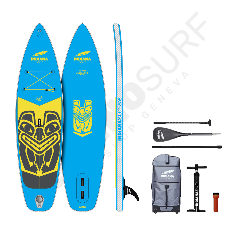 Pack Stand Up Paddle Gonflable INDIANA Enfants 8'6 - 2021