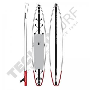 Stand Up Paddle Gonflable SURFPISTOLS Performance Trek Carbone 14'x28'' - 2021