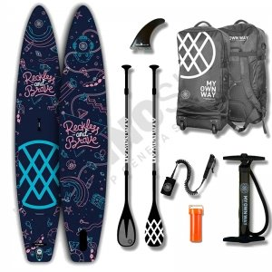 Pack Stand Up Paddle Gonflable ANOMY Bakoom Studio 12'6'' - 2021