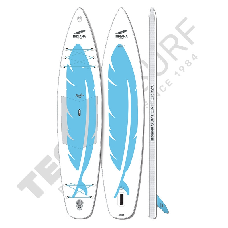 Stand Up Paddle Gonflable INDIANA 12'6 Feather - 2021