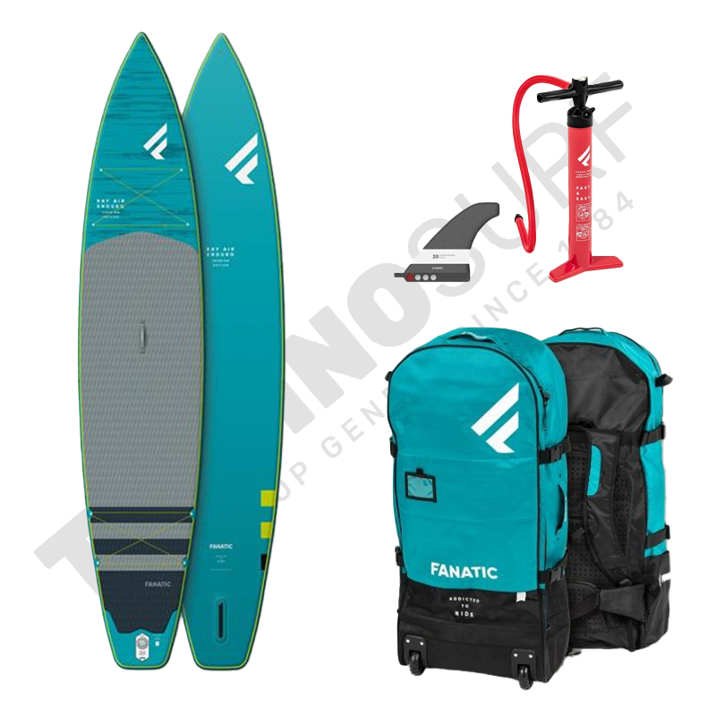 Pack Stand Up Paddle Gonflable FANATIC Ray Enduro Premium 11' - 2021
