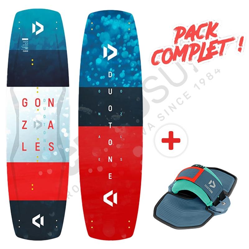 Pack Promo Duotone Gonzales + Pads Vario 2021