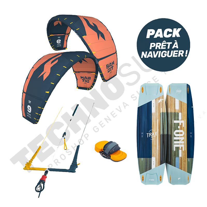 Pack Kitesurf F-one Bandit 9m² / Trax HRD Lite - 2021