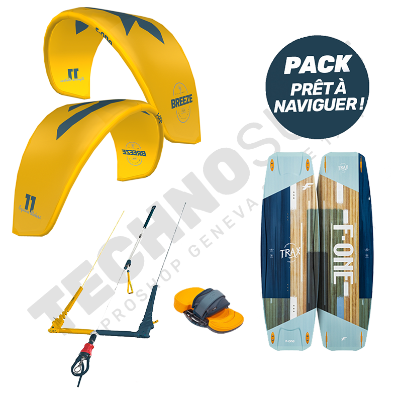 Pack Kitesurf F-ONE Breeze 11m² / Trax HRD Lite - 2021