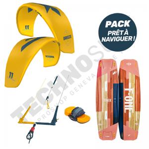 Pack Kitesurf F-ONE Breeze 11m² / Trax HRD Lite Papaya - 2021