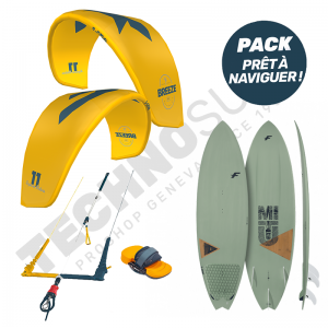 Pack Kitesurf F-ONE Breeze 11m² / Mitu Pro Bamboo - 2021