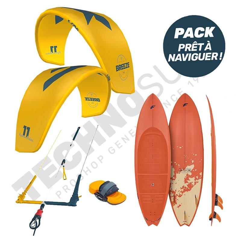 Pack Kitesurf F-ONE Breeze 11m² / Mitu Pro Flex - 2021