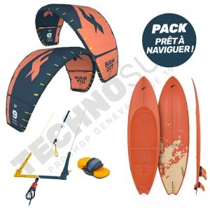 Pack Kitesurf F-one Bandit 9m²  / Mitu Pro Flex - 2021