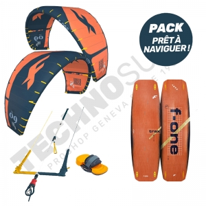 Pack Kitesurf F-ONE Bandit S2 8m²  / Trax - 2021