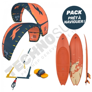 Pack Kitesurf F-ONE Bandit S2 10m² / Mitu Pro Flex - 2021