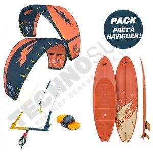 Pack Kitesurf F-ONE Bandit S2 8m² / Mitu Pro Flex - 2021