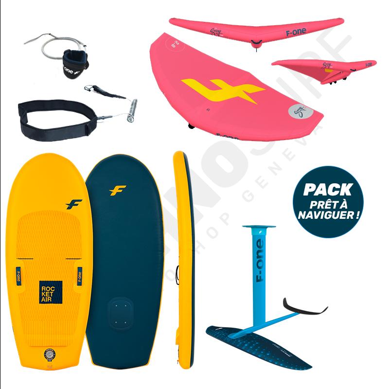 Pack Wing foil F-ONE Swing V2 + Rocket Air 5'10'' + Gravity FCT 1800 - 2021