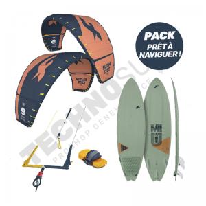 Pack Kitesurf F-one Bandit 9m² / Mitu Pro Bamboo - 2021