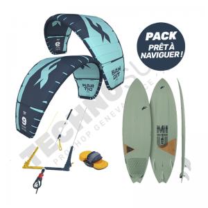 Pack Kitesurf F-one Bandit 12m² / Mitu Pro Bamboo - 2021