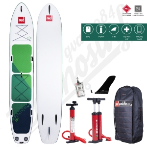 "Stand Up Paddle Gonflable RED PADDLE Voyager Tandem MSL Fusion 15'0"" - 2020"