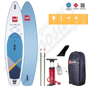 Stand Up Paddle Inflatable RED PADDLE Sport MSL 11'3'' - 2020