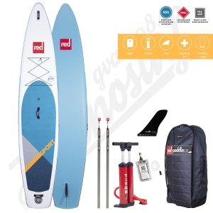 Stand Up Paddle Inflatable RED PADDLE Sport MSL 12'6'' - 2020