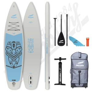 Pack Stand Up Paddle Gonflable INDIANA Family Gris 12'0 - 2020
