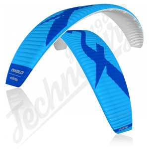 Kite F-ONE Diablo V4 Deep Blue/Royal Blue - 2020