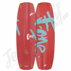 Twin tip F-ONE One Blue Lagoon/Coral - 2020