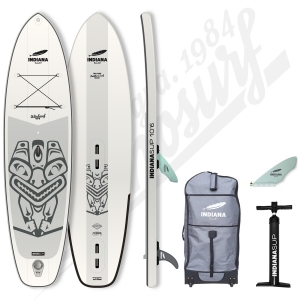 Stand Up Paddle Gonflable INDIANA 10'6 Windsurf - 2020