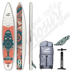Stand Up Paddle Gonflable INDIANA 12'6 Touring LTD - 2020