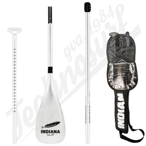 Pagaie INDIANA SUP Carbon Telescope White (3 parties) - 2020