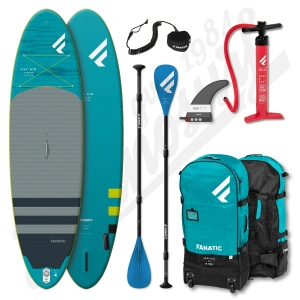 Pack Stand Up Paddle Gonflable FANATIC Fly Air Premium 10'4'' + Pagaie Pure 15% Carbone + leash - 2020