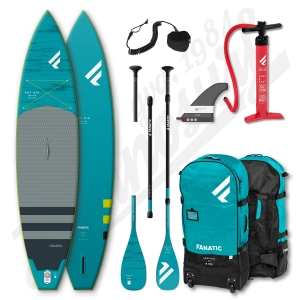 PACK Stand Up Paddle Gonflable FANATIC Ray Air Premium 12'6'' + Pagaie + leash - 2020