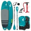 Pack Stand Up Paddle Gonflable FANATIC Fly Air Premium 10'4'' + Pagaie + leash - 2021