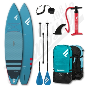 Pack Stand Up Paddle Gonflable FANATIC Ray Air 11'6'' + Pagaie + leash - 2020