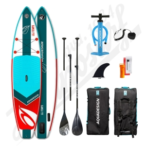 Pack Stand Up Paddle Gonflable AQUADESIGN Tempo 11'6x31'' - 2020