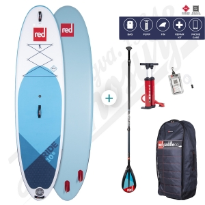 PACK Stand Up Paddle Gonflable RED PADDLE Ride MSL 10'8'' - 2020