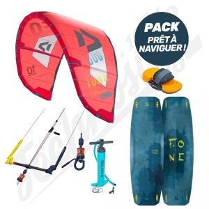 Pack Kitesurf DUOTONE Neo / F-ONE Trax ESL - 2020