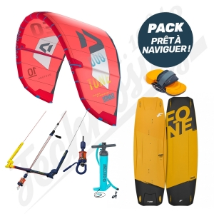 Pack Kitesurf DUOTONE Neo / F-ONE Trax HRD Carbon Series - 2020