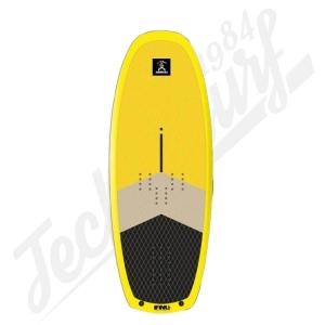 Board Wind/Wing/SUP Foil SURFPISTOLS Flying Machine 120L Wood - 2020