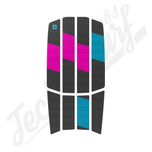 Pad DUOTONE Traction Pad Team Front - 2021 Gris/ Rose