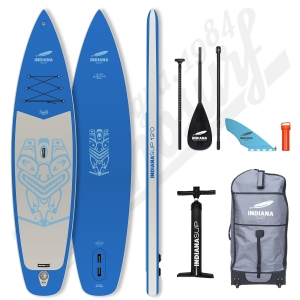 Pack Stand Up Paddle Gonflable INDIANA Family Blue 12'0 - 2021