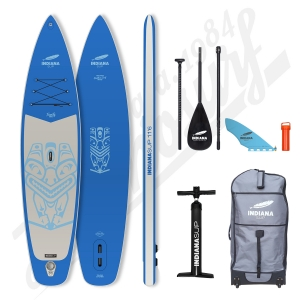 Pack Stand Up Paddle Inflatable INDIANA Family Blue 11'6 - 2021