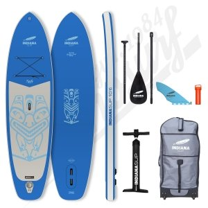 Pack Stand Up Paddle Inflatable INDIANA Family Blue 10'6 - 2021