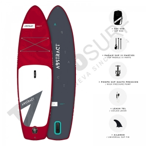 Stand up Paddle gonflable ABSTRACT Jaws 10' Ruby