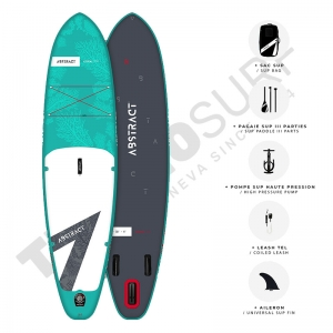 Stand up Paddle gonflable ABSTRACT Coral 10'6 Topaze