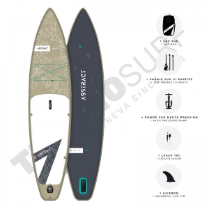 Pack Stand up Paddle gonflable ABSTRACT Saku 11'6 Beige
